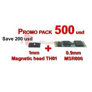 Promo pack MSR006 and 1 mm magnetic head PRM001