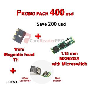 Promo pack MSR008s and 1 mm magnetic head PRM002