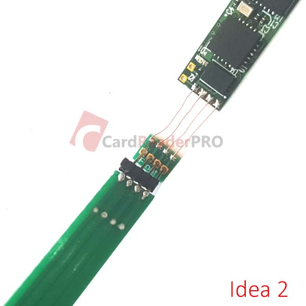 Ultra thin Female Header 0.4 mm FH043