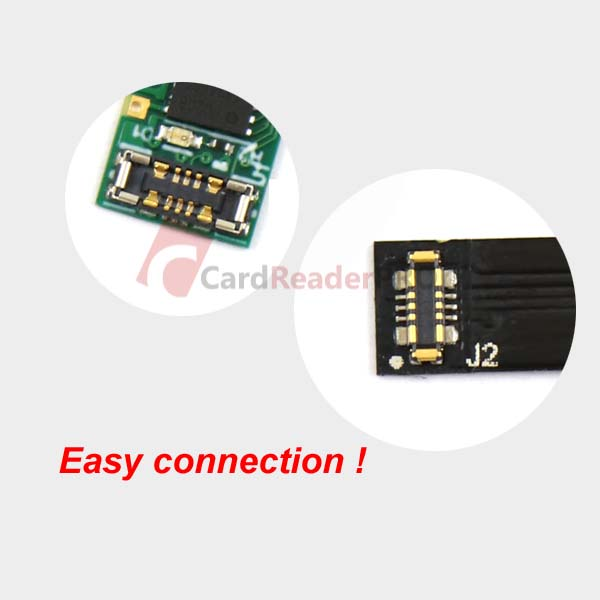 The smallest bluetooth reader for magnetic cards MSR030