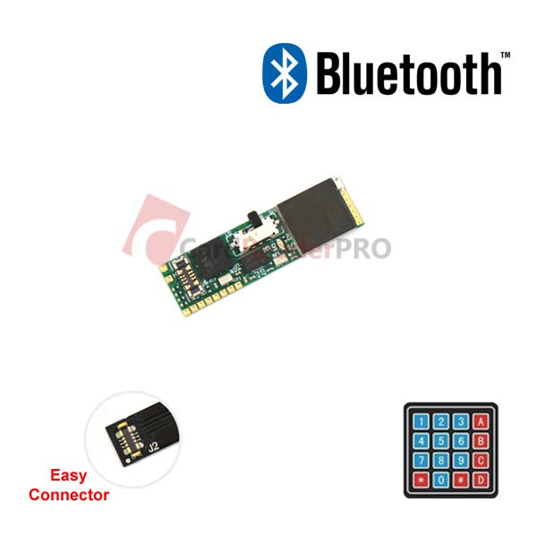 The smallest Bluetooth Keypad facility logger 4x4 KEY030